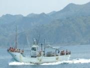 鼠ヶ関漁船